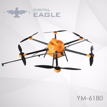 8 axis rotors drone crop duster agriculture aircraft uav use in farming applications