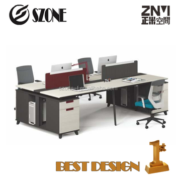 New Popular office Modular Four Person Workstation (T-WB2414B/T WB2814B)