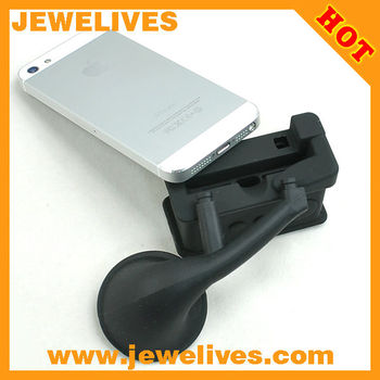 new arrival Silicone loud speaker/horn stand for iPhone4