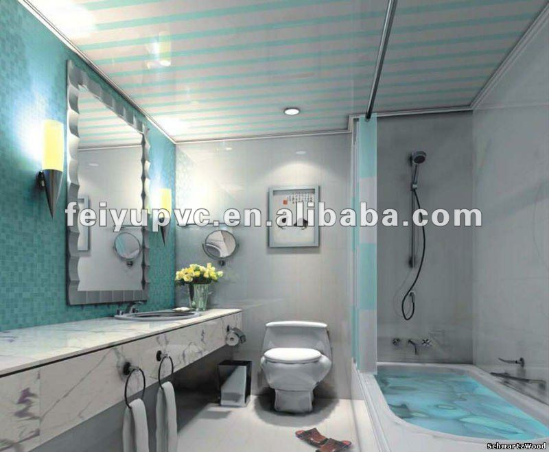 Domestic Kitchen/Bathroom PVC Ceiling, Houshold Decorative Material