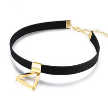 Fashion Velvet Choker Wholesale Customized Simple black neck chain neckalce