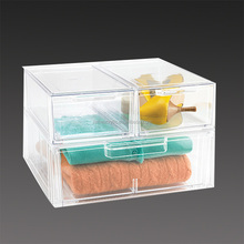 wholesale clear acrylic shoe display case, cloth storage box