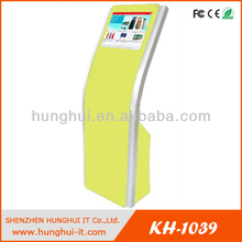 Free Standing Touch Screen Digital Information Kiosk / Internet Accessed Information kiosk with PC