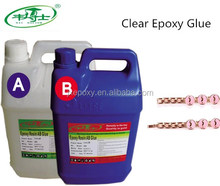 No Bubbles Clear Epoxy Resin Hard AB Glue For Decorative Paint