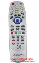Silvery 42 Button STRONG REMOTE CONTROL for Set-top Box STARGOLD STARTRACK EUROSTAR STARCOM SUPERMAX SUPERCALIFORNIA TOKYOSAT
