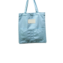 Wholesale printed drawstring shopping tote custom cotton canvas bag standard size