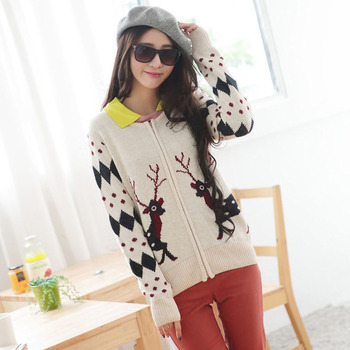 2017 High quality Women christmas sweater