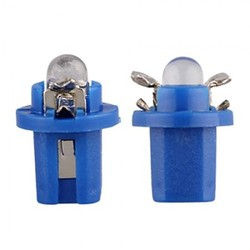 CARCHET 10 T5 Blue LED Car Gauge Dash Speedo Dashboard Light Bulb Lamp