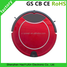 Red vacuum robot cleaner,Dry And Wet Vacuum Robot Cleaner With CCC CE GS