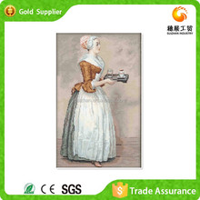 Yiwu Factory Embroidery Of Resin Modern 3d Modern Abstract Human Figure Oil Painting