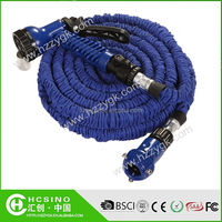 Strongest Expandable Garden Hose on the Planet. Durable Double Latex Core, Extra Strength Fabric, 3/4, Christmas Gift