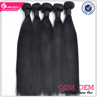 2016 hot selling 24inch 3pcs 7a unprocessed virgin indian remy human hair