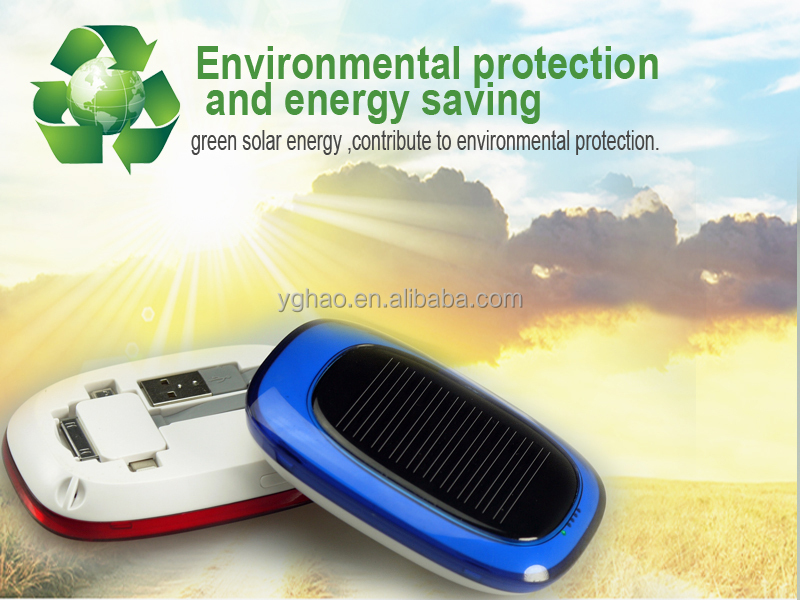 Chinese latest portable solar chargers power bank for handphone
