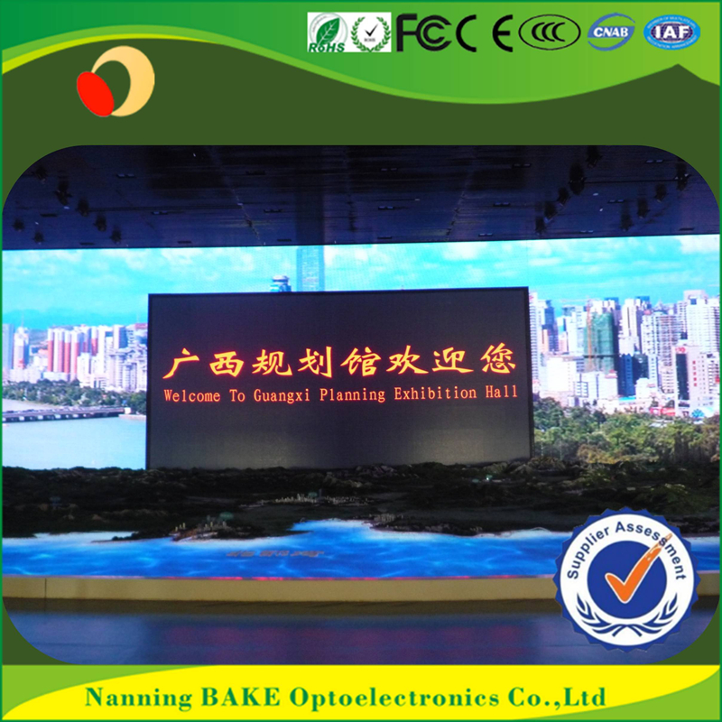 Indoor P3 P5 fixed front maintenance econmical led display roll up led video screens
