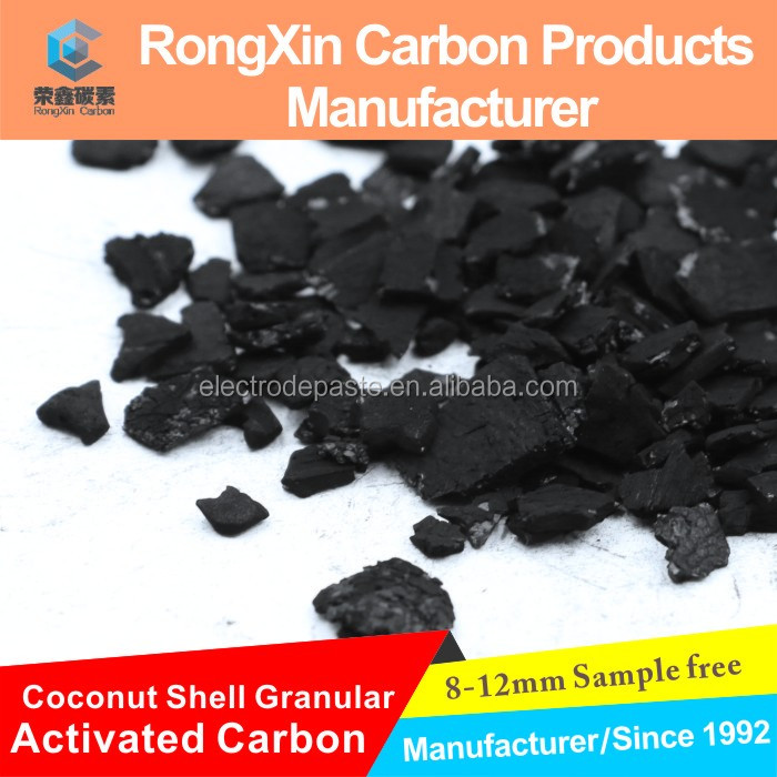 China Coconut Shell Activated Carbon in Water Treatment Plant Use