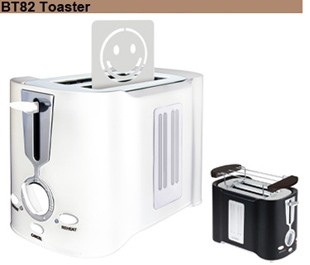 Anbo OEM toast with electronic browning control and detachable crumb tray Doughnut maker toaster oven bread toaster