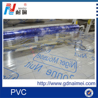 clear mattress protective pvc plastic film