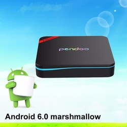 Pendoo New Arrival Amlogic S905W Smart Wifi Mini TV Box Pendoo X8 Mini 1GB 8GB 4K hd with IR and Mount
