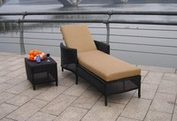 Outdoor Anti-skidding Weather-resistant Great Waterproof Sun Lounge Chair Daybed