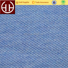 Good quality single or double knitted 100% cotton pique fabric for Polo shirt