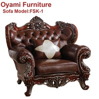 Custom made Supply comfortable soft Romantic style russia sofa