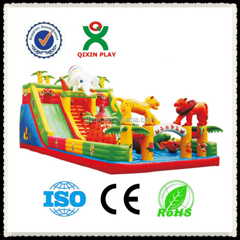 the lagest inflatable snow slide for wholesale in china