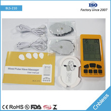 High frequency TENS shock wave back massager machine BLS-210