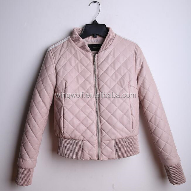 bangladesh clothing moto jacket winter jacket women pink fur coat women windproof wadded pu leather jacket coat women