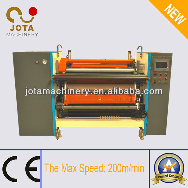 Automatic Supermarket Paper Roll Cutting Machine,Taxi Ticket Roll Making Machine,Automatic Slitting and Rewinding Machine