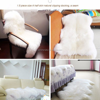 Hot Selling Real Animal Skin Shaggy