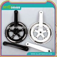 cp bicycle chainwheel & crank ,H0T005 alloy chain wheel crank , stainless steel chainwheel and crank