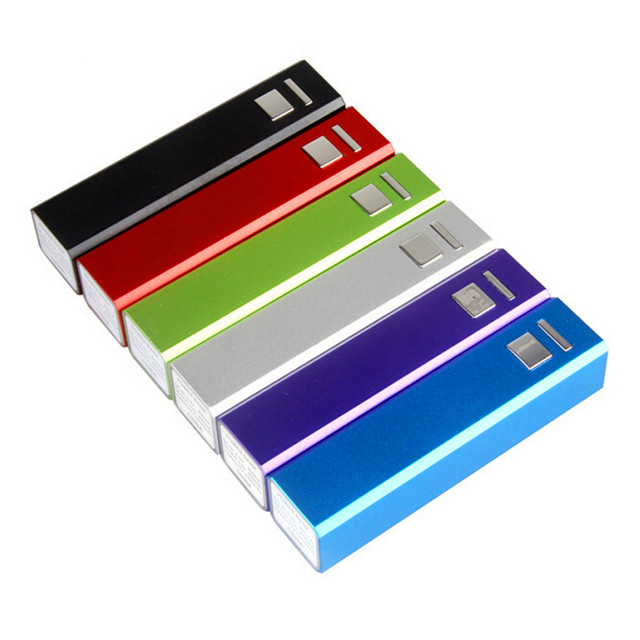 Power Bank 2600 for Smartphone External Power Bank Real Capacity Powerbank 2600mAh, Wholesale Portable