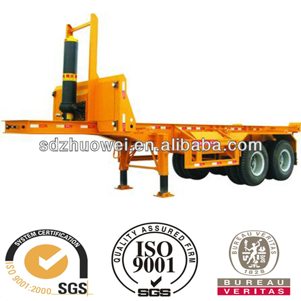 Widely Used 40ft 12 NO. Twist Truck Log Trailer