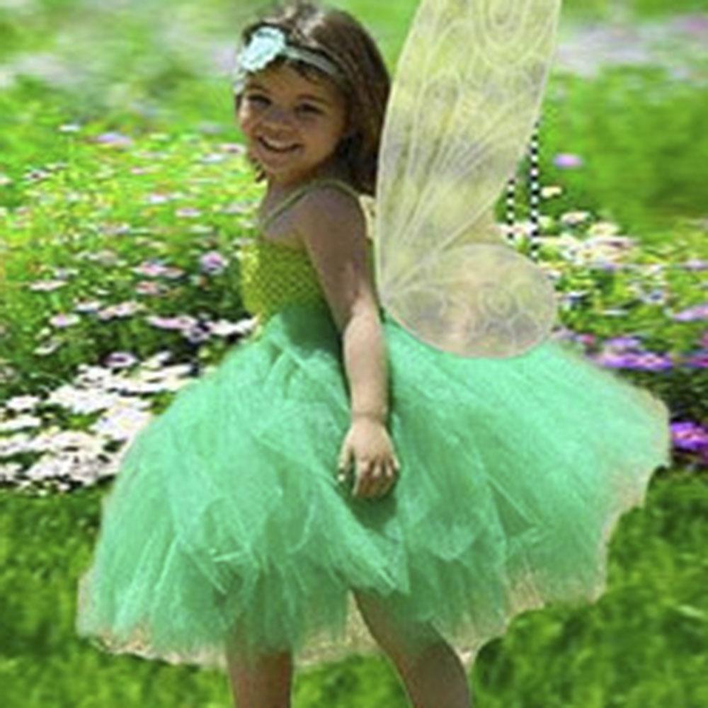 Petit Dream Tinkerbell Fairy Set Kids Girl Dress 4pcs set Girl Party ...