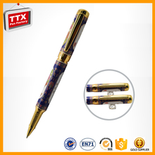 Luxury good quality polymer clay ball pen for promotion item