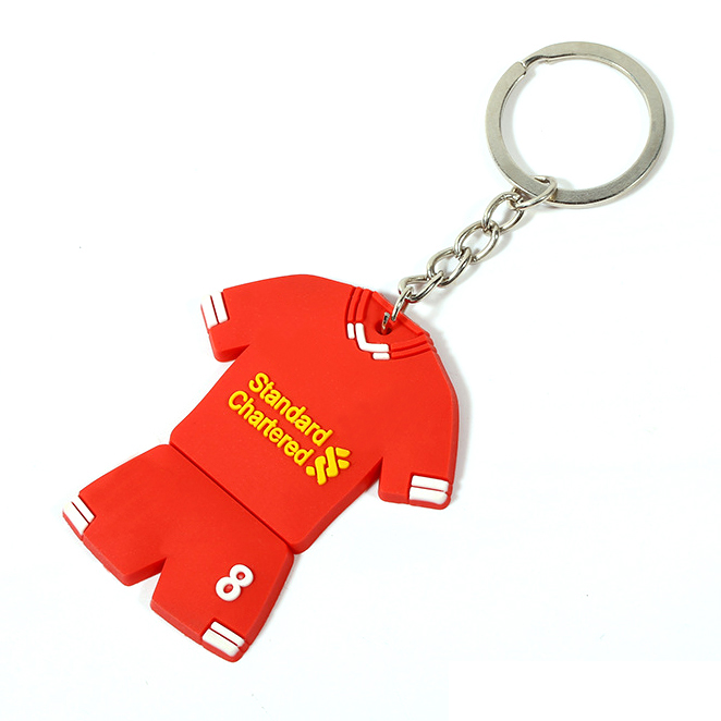 China wholesale promotional gifts cheap customization plastic keychain, custom rubber keychain, advertising design pvc keychain