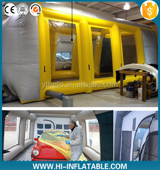 Mobile Automatic inflatable spray tan tent Booth for Sale