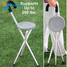 Walking Stick with Chair Folding cane seat WS96001