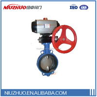 High performance butterfly valve Pneumatic desulfurization valve 90 degree on and off for oil, water, gas, Suppliers from China