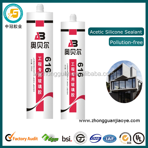 GP engineering special acetic silicone sealant
