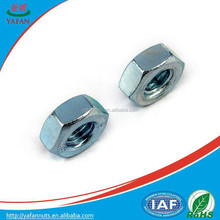 M10 high quality hex. nut/China supplier hex. nut/factory price hex. nut