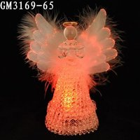 Wholesale handmade angel decoration for wedding souvenir