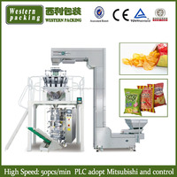 Automatic Potato Chips Packaging Machine With Weigher