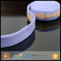 Bra shouler band slip resistant elastic soft fence ribbon