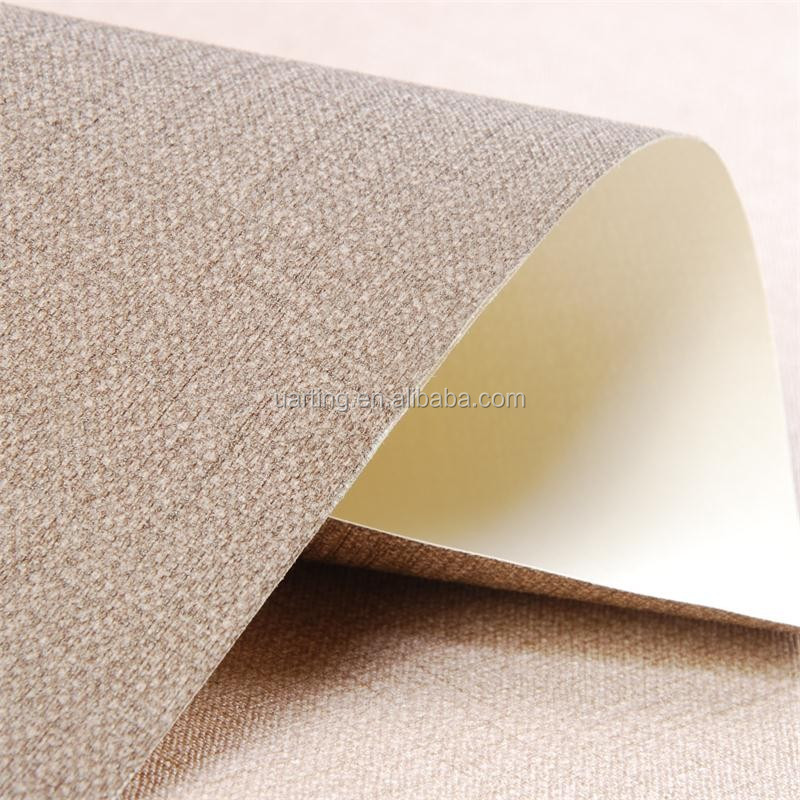 korea solid color vinyl wallpaper waterproof wallpapers for bathrooms