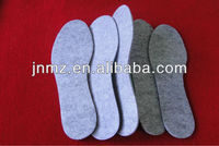 high quality wool felt shoes insoles with competitive price