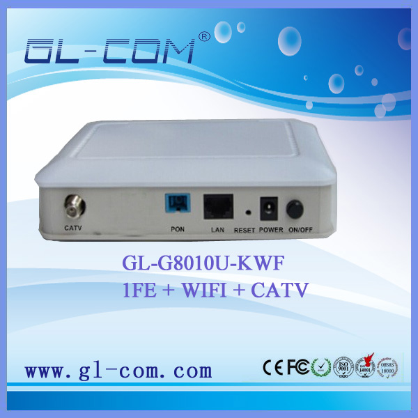 fiber optic cable modem wifi router 1GE CATV WIFI GPON ONU