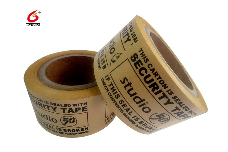 White Thin Kraft Paper Tape Suitable for Sealing