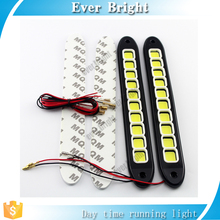 New COB 10SMD Flexible DRL LED Daytime Running Light 8W COB Fog Lights Car LED DRL Driving Lamp,drl flexible