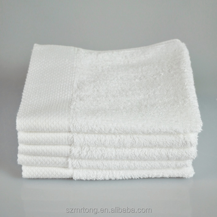 Professional gots certified 100% organic cotton towels
